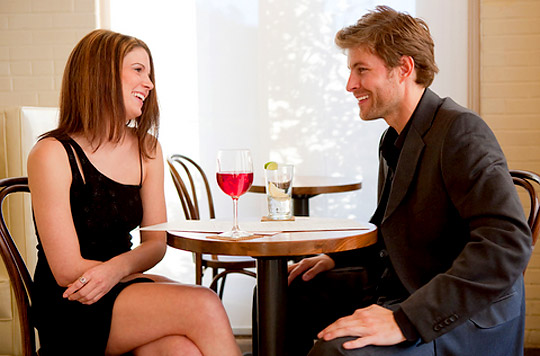 Body language on a date