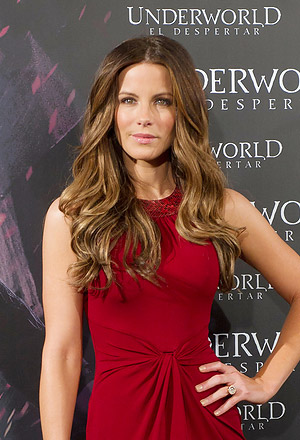 Kate Beckinsale's glamorous waves
