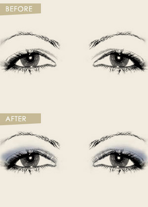 Wedding makeup for close set and down turned eyes bride sparkle apply the dark eye shadow from the center of the eye and move towards the exterior corner blend the colors in the center apply mascara only on lashes of ccuart Gallery
